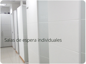 Salas de espera individuales Clínicas de Salud Sexual Boston Medical Group Perú