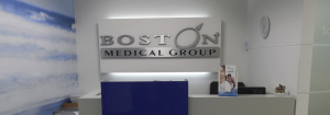 Recepción Boston Medical Group Perú